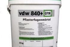 25kg. Voegmortel VDW 840 plus