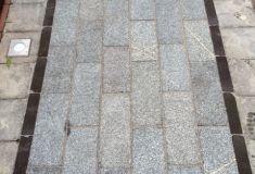 Tegel: Grey graniet gevlamd