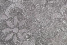 Keramische tegel Disegno Antracite deco 90x90x3
