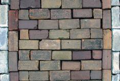 Keiformaat brons/bruin genuanceerd Amsterdam