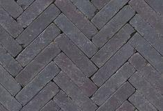 Paars/Bruin bezand getrommeld 20x6.5x6.5