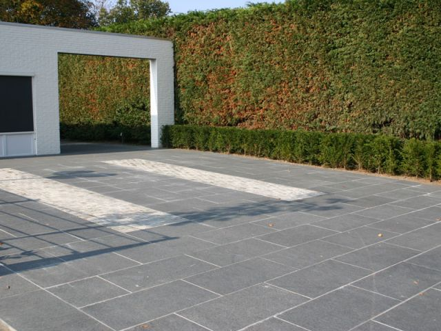 Tegel Met Facet : Beton tegel cm met facet grijs